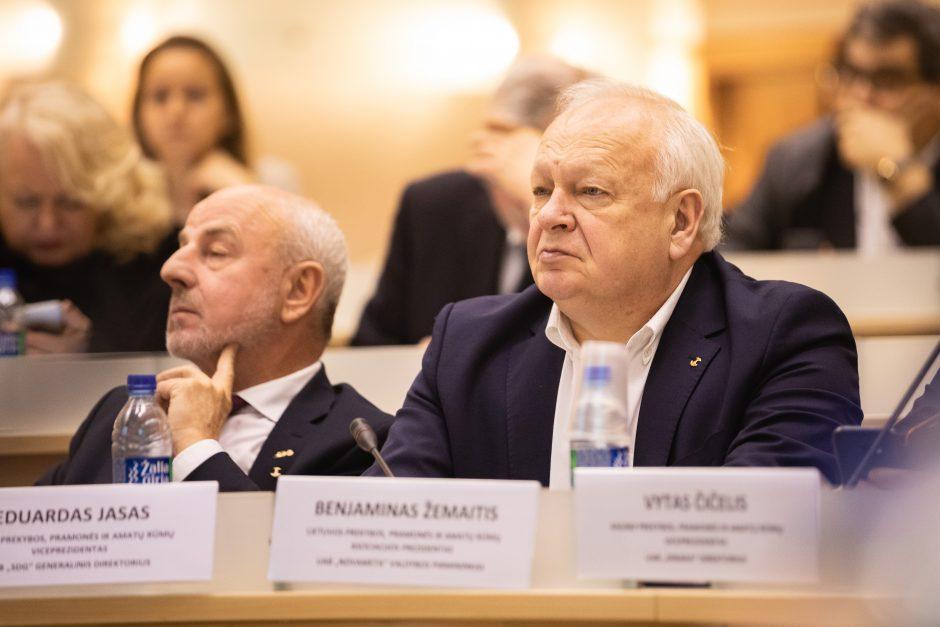 Kaune – verslo atstovų ir pretenduojančiųjų į Kauno mero postą debatai