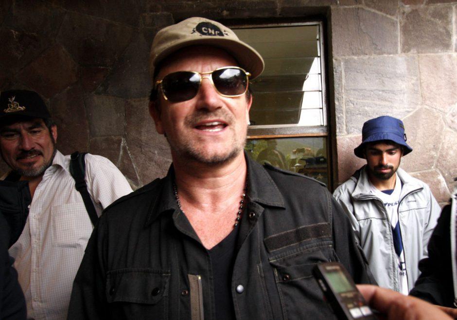 Bono gaus aukščiausią Prancūzijos kultūros apdovanojimą