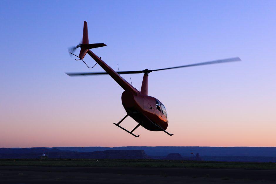 Rusijoje per sraigtasparnio katastrofą žuvo du žmonės