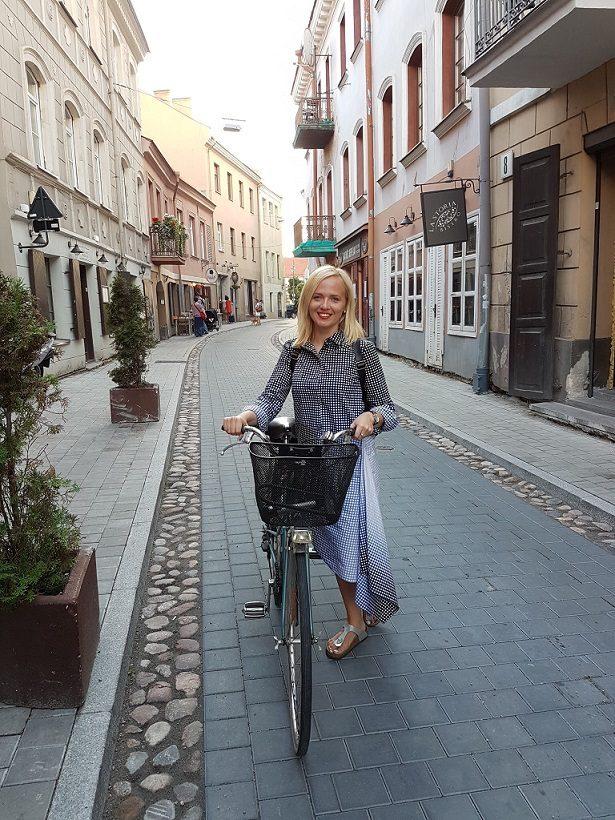 Žurnalistė Ž. Kropaitė: mano pirmieji pasimatymai buvo ant dviračių
