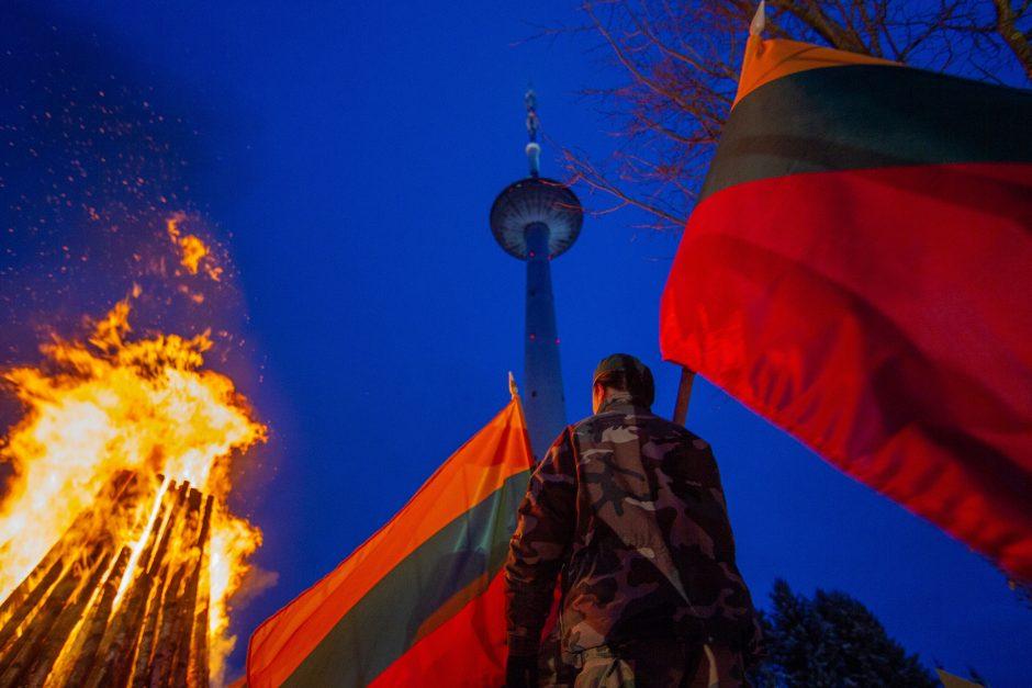 Atminimo laužai Vilniuje