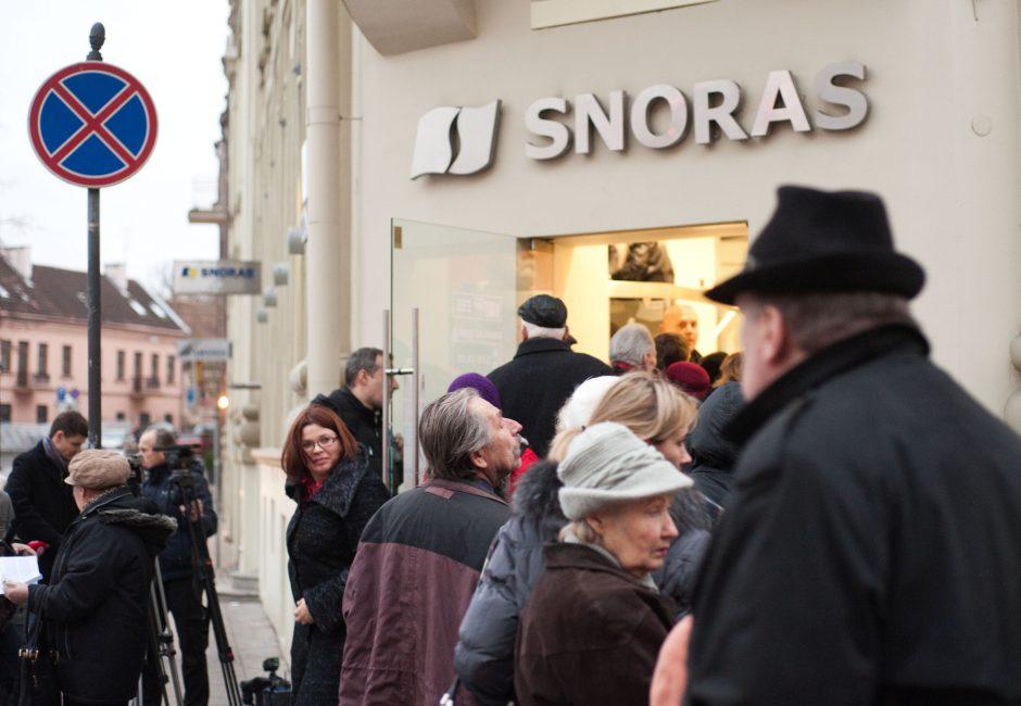 """Snoro"" banko byla – jau finišo tiesiojoje"