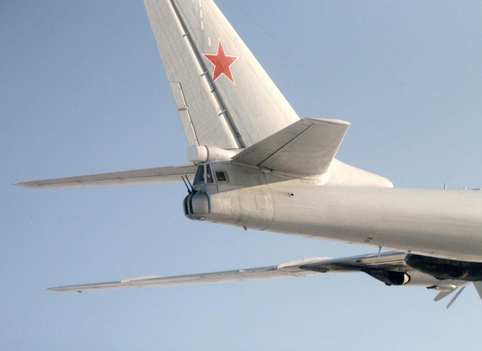 Rusijos lėktuvas pirmą kartą šiais metais pažeidė Estijos oro erdvę