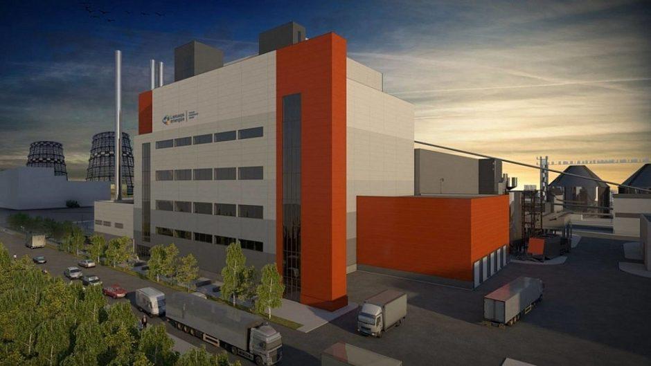 Vilniuje pradėtos kogeneracinės jėgainės statybos