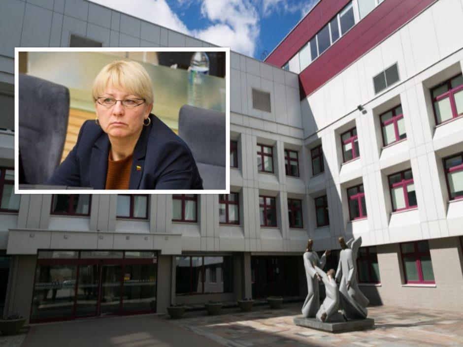 Po incidento Santaros klinikose A. Kubilienė kreipėsi į etikos sargus
