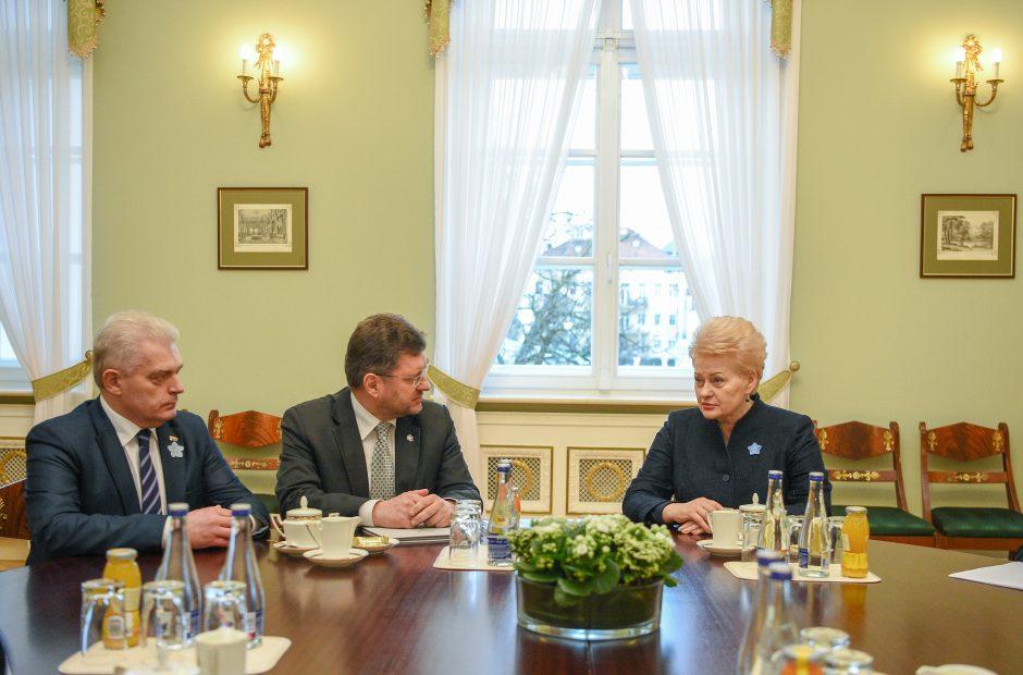 D. Grybauskaitei – garbingas Baltijos Asamblėjos apdovanojimas