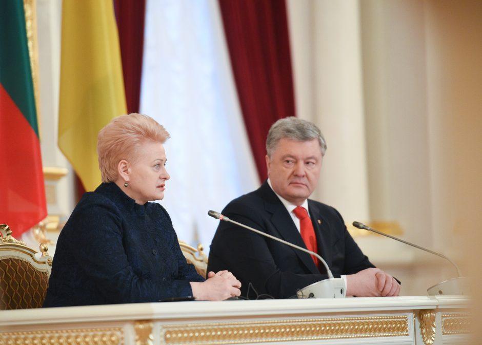 D. Grybauskaitė vieši Ukrainoje