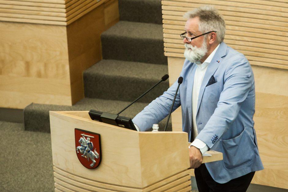 Seimas pavasarį grįš prie svarstymų dėl politikų pajamų deklaracijų viešinimo
