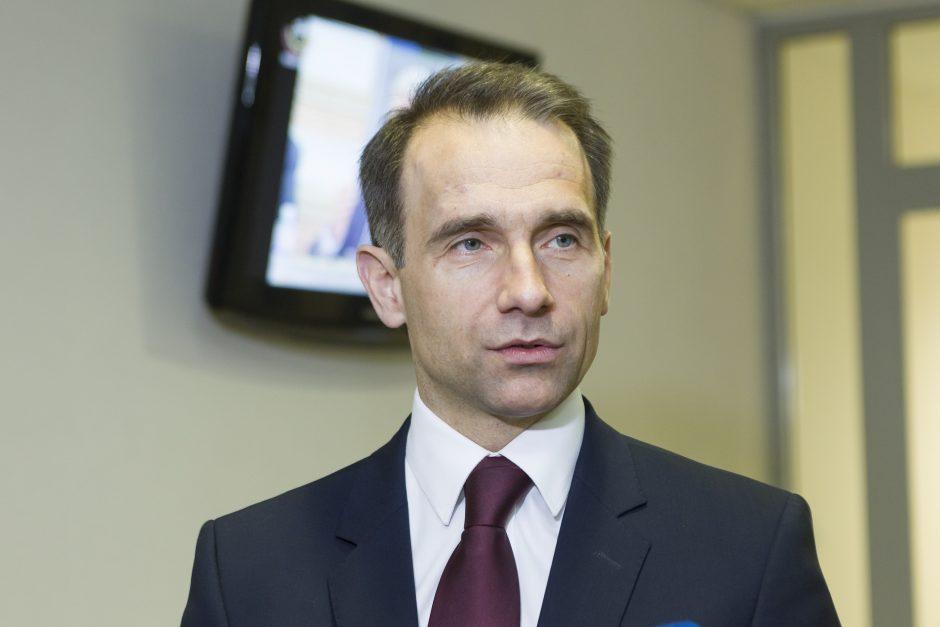 R. Masiulis siūlo Ukrainai pagalbą, statant SGD terminalą
