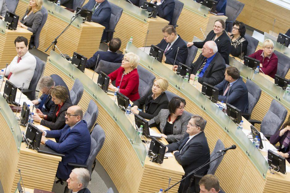 Seimas nebalsuos, ar leisti savivaldybių įmonėms toliau teikti paramą