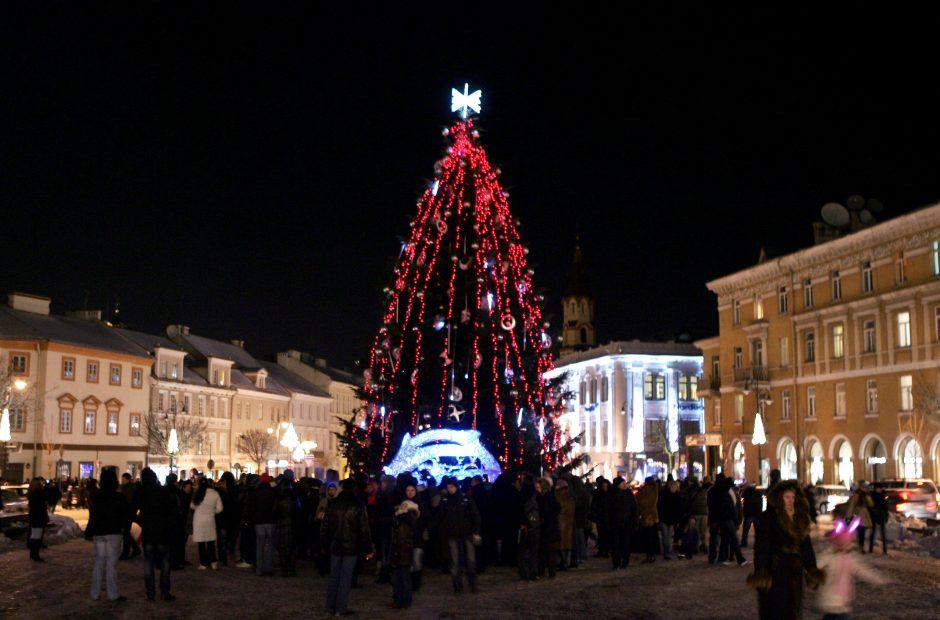 Ketvirtadienį Rotušėje bus pristatyti sostinės Kalėdų šventiniai renginiai