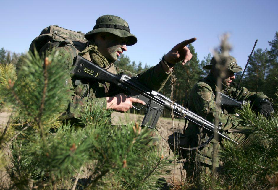 Krašto apsaugos savanorių pajėgas papildė 116 savanorių