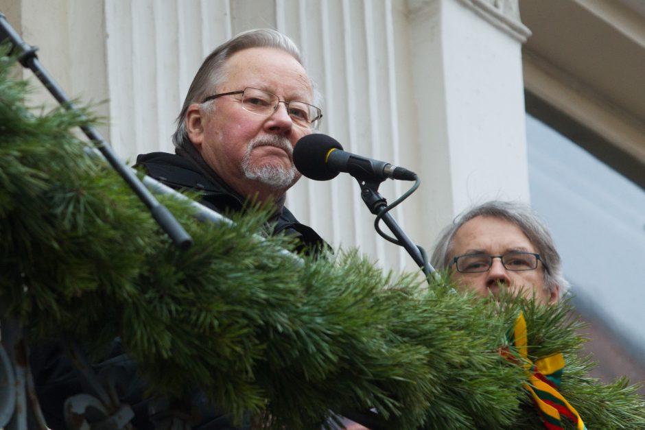 V. Landsbergis: Lietuva patiria branduolinį šantažą