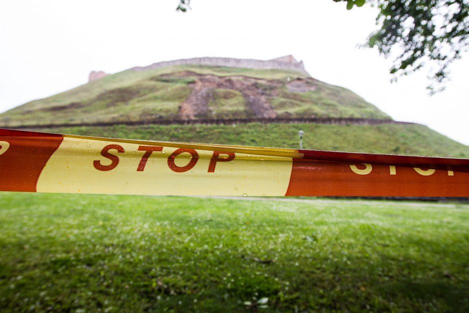 Gedimino kalnas lieka atviras lankytojams