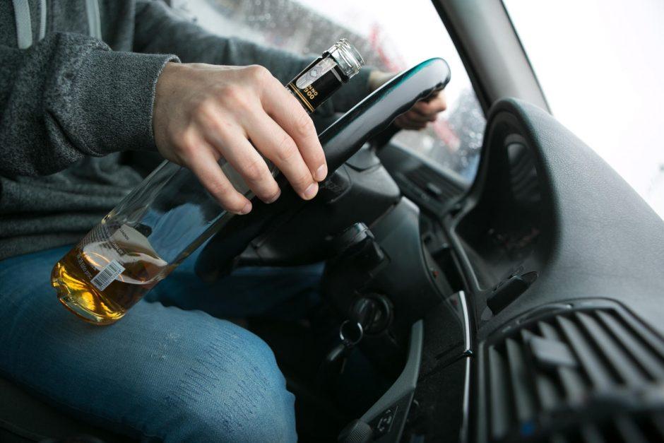 Per savaitę Vilniuje pareigūnams įkliuvo 29 neblaivūs vairuotojai