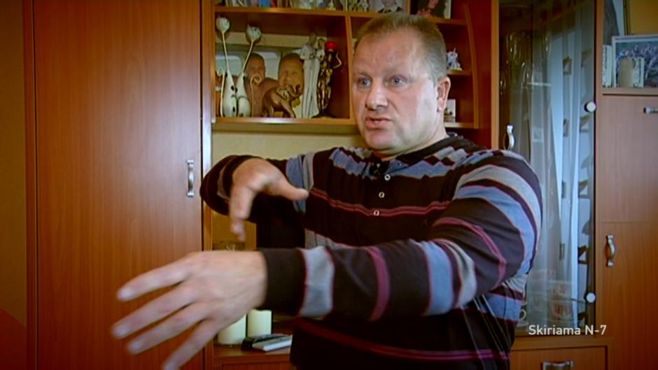 A. Komskis prašo jį išteisinti dėl nušauto pasieniečių šuns