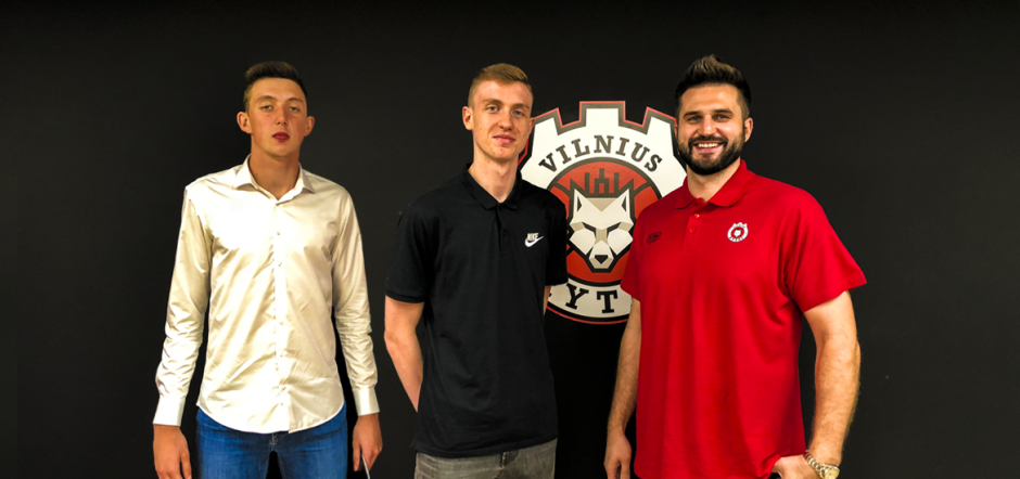 """Vilniaus """"Ryto"""" jaunimo programą papildė du perspektyvūs aukštaūgiai"""