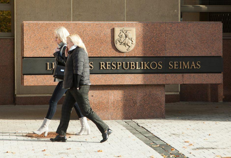 Seimo rūmuose, įtariama, vėl apvogtas žurnalistas