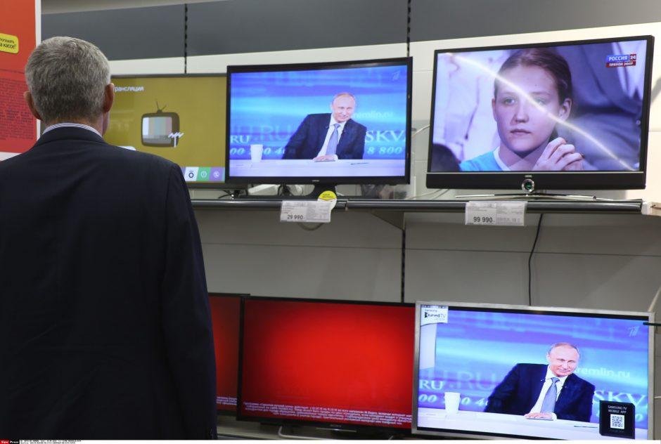 Komisija lauks rusiškos televizijos TVC paaiškinimų dėl neapykantos kurstymo