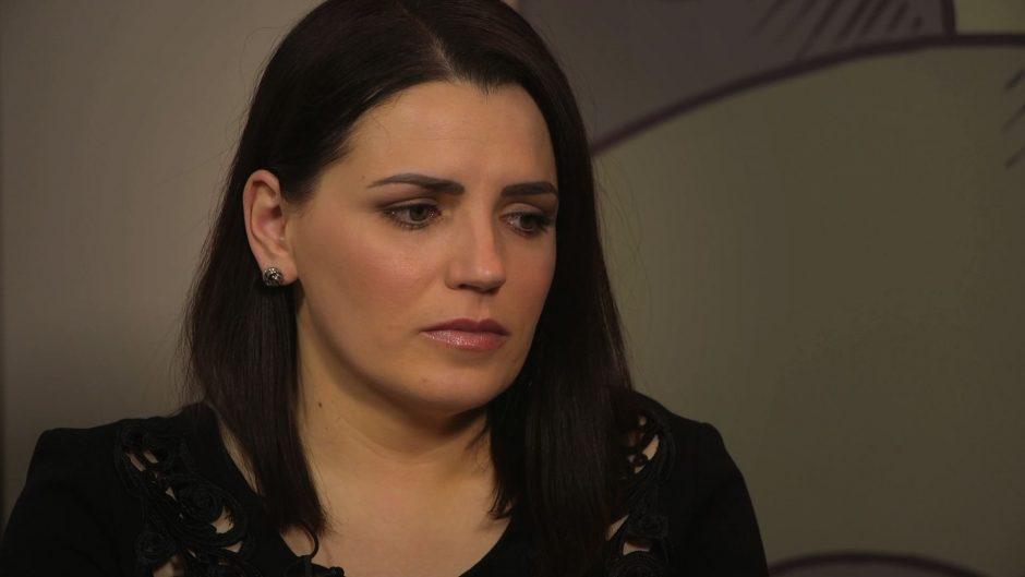Patėvio smurtą patyrusi R. Šakalytė-Jakovleva: būdavo ir labai stiprių smūgių
