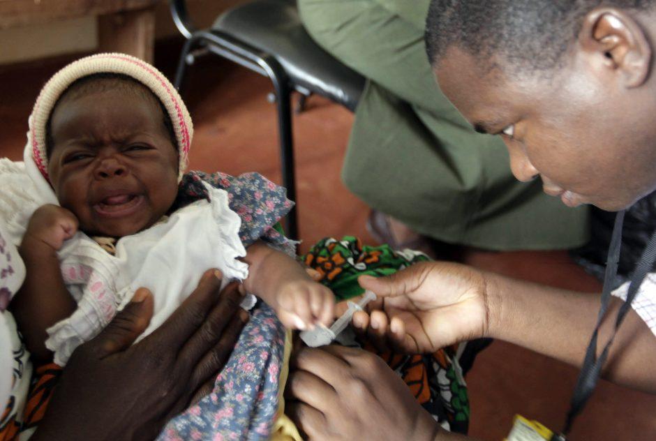 Afrikoje bus bandoma vakcina nuo maliarijos