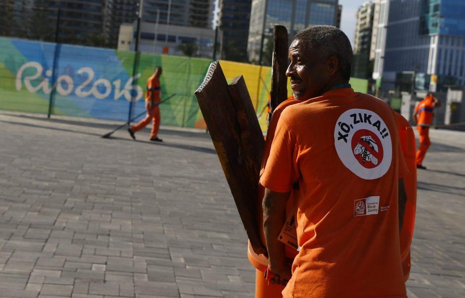Sportininkai aplenkia Rio dėl Zikos: ar tikrai tai – pagrindinė priežastis?