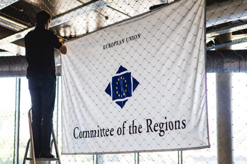 """Aptarti ES reikalų – į """"Žalgirio"""" areną"""