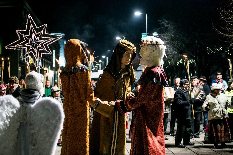 Šventės baigėsi – į Kauną įžengė Trys Karaliai