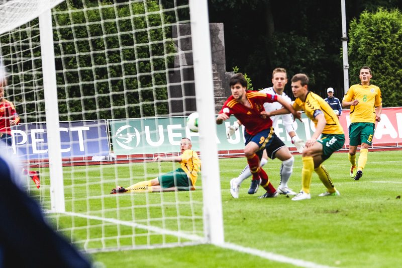 Europos U-19 futbolo čempionatas: Lietuva - Ispanija