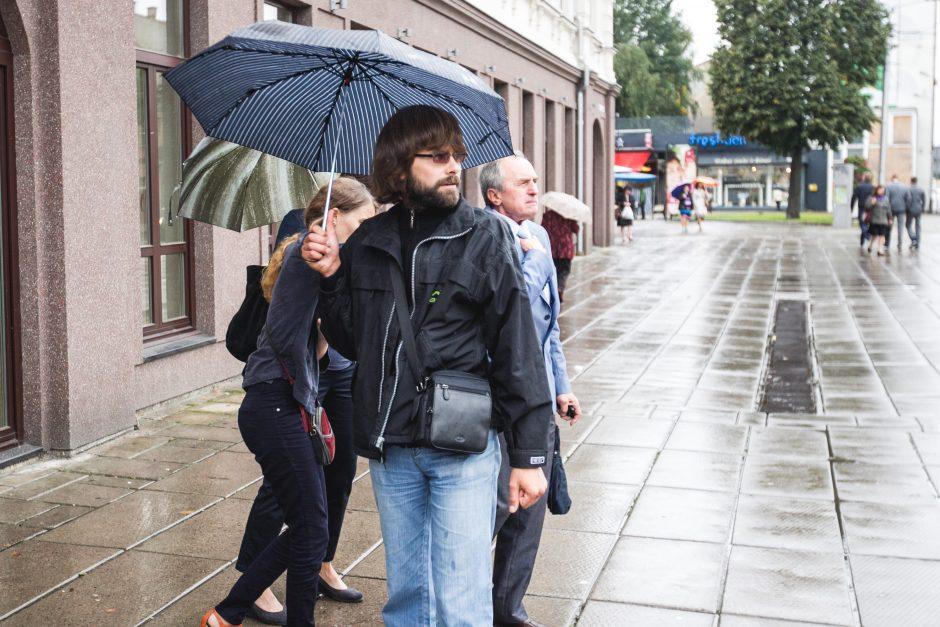 Piketas prie Kauno apylinkės teismo