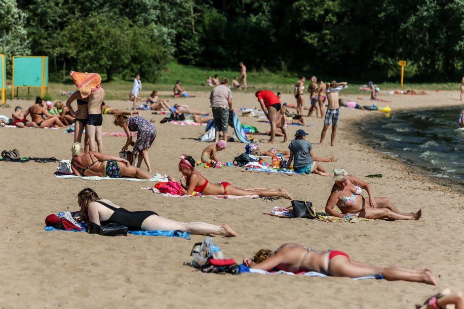 Karščiausia metų diena Marių paplūdimyje