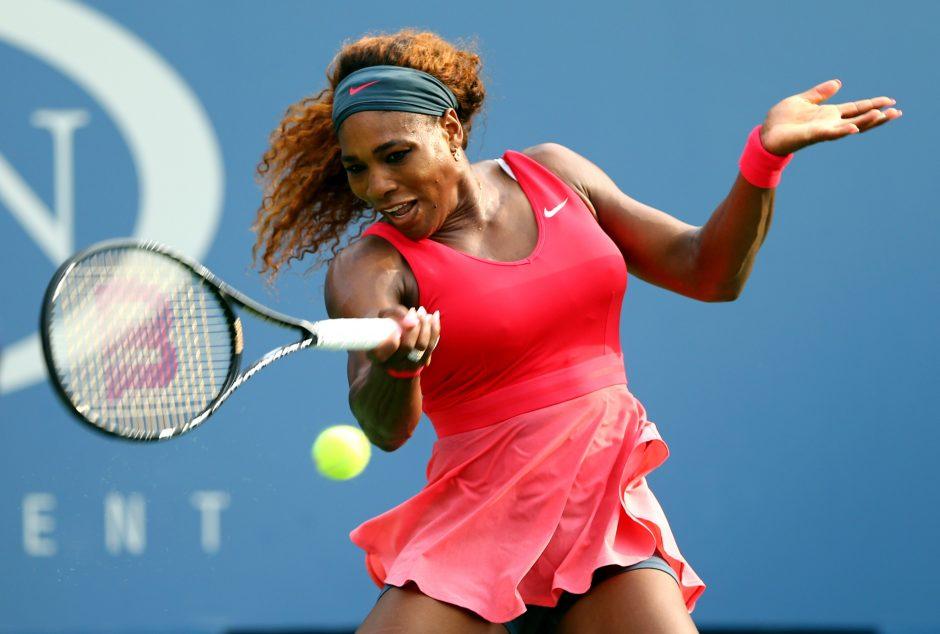 S. Williams sėkmingai įveikė ATP serijos turnyro aštuntfinalį