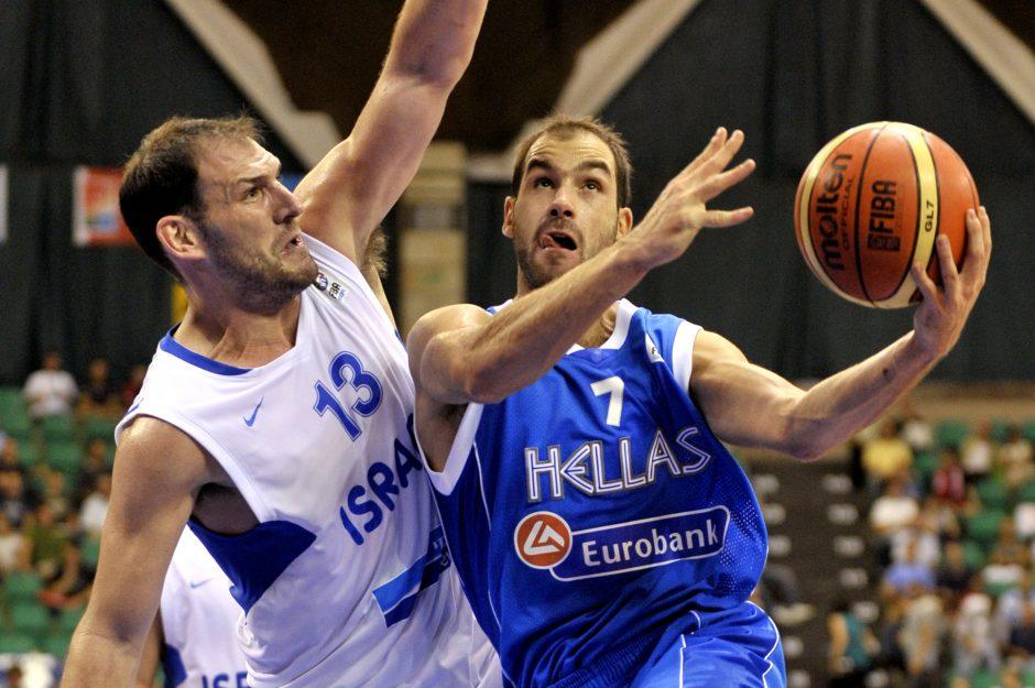"""""""Eurobasket 2013"""" pasiruošimas: graikų, slovėnų, kroatų, lenkų ir žydų pergalės"""