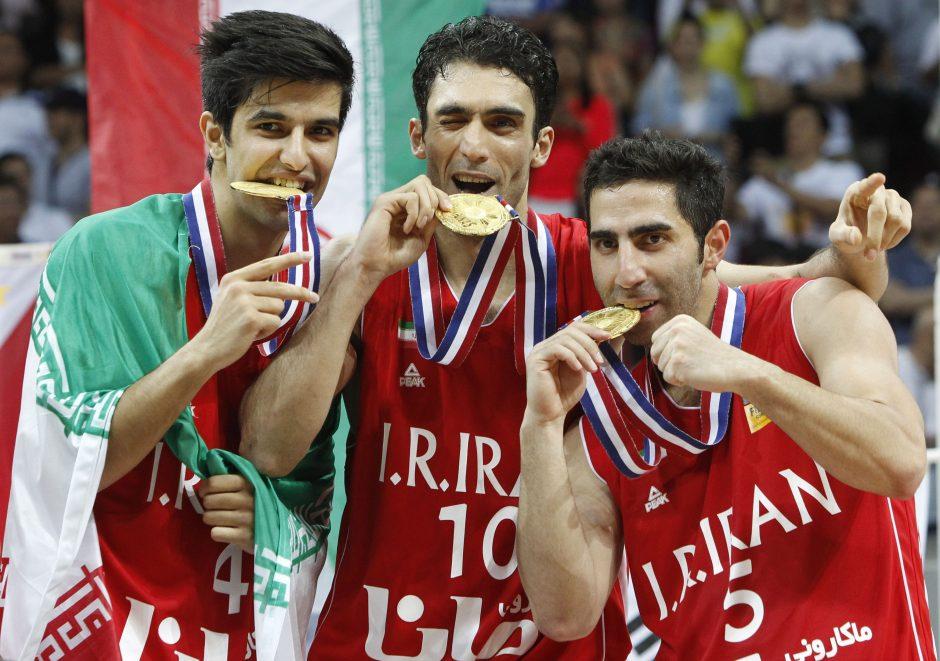 Irano rinktinė - Azijos žemyno čempionai, kinai pasaulio čempionate nežais