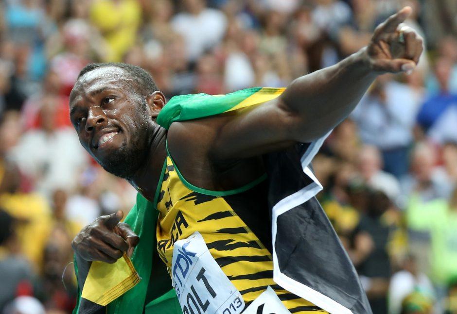 U. Boltas susigrąžino greičiausio pasaulio žmogaus titulą