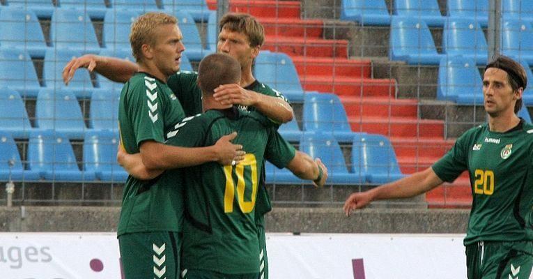 Lietuvos futbolo rinktinei - antausis nuo nykštukinio Liuksemburgo