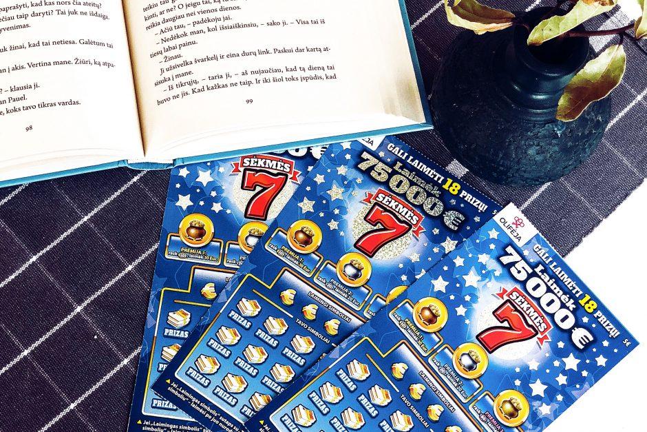 75000 eurų laimėtojas bilietą atidavė mamai