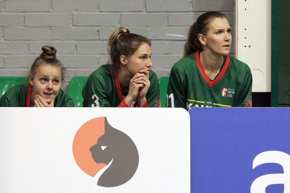 "Moterų lyga: ""Aistės-LSMU"" – ""Fortūna"" 82:62"