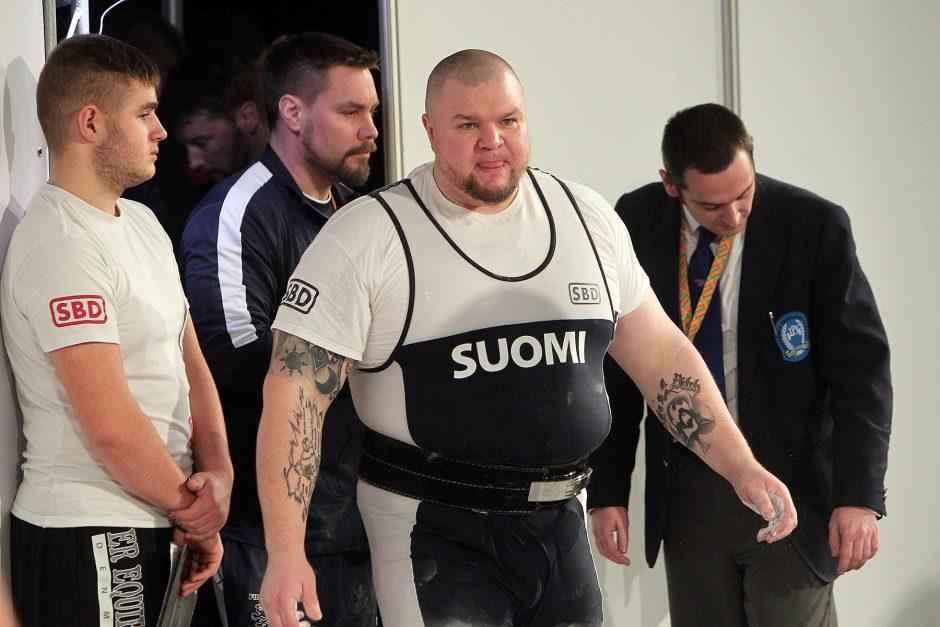 Europos jėgos trikovės čempionatas. Sunkiasvoriai