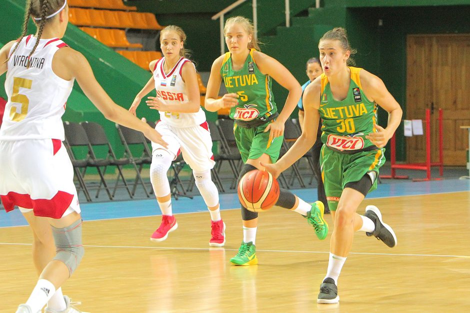 Lietuva – Rusija 49:66. Merginų U16 EČ