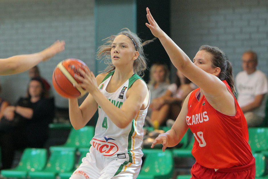 Kontrolinės. Lietuva U16 – Baltarusija U16 79:51