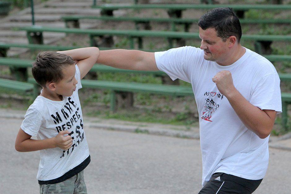 Nemokamos kovos menų treniruotės Kaune