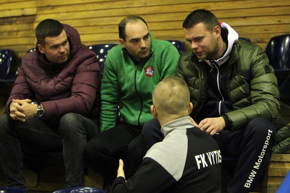 """Futsalo A lyga: """"Vytis"""" – """"Akmenė"""" 5:2"""
