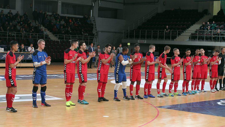 """Futsalas. """"Vytis"""" – """"KMN Dobovec"""" 1:2"""