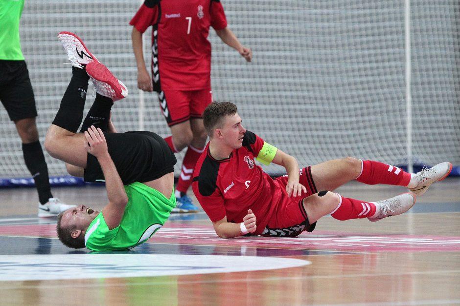 """Kauno """"Vytis"""" įveikė salės futbolo Čempionų lygos atrankos etapą"""