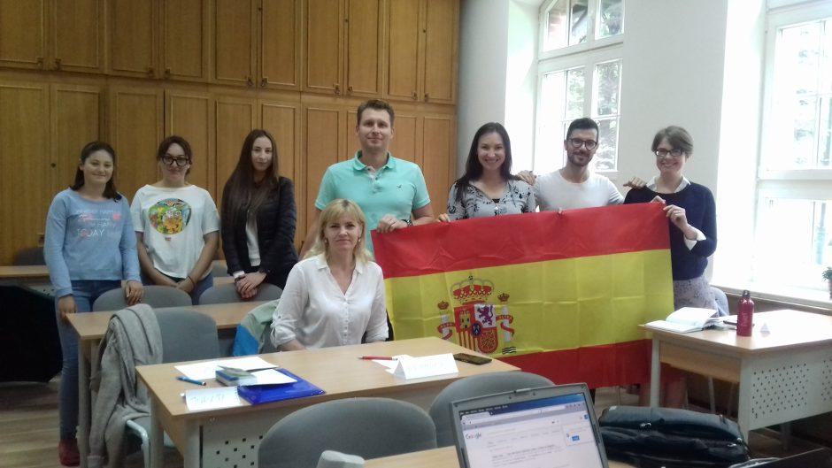 Ispanų kalbos mokytojas liko sužavėtas Lietuva