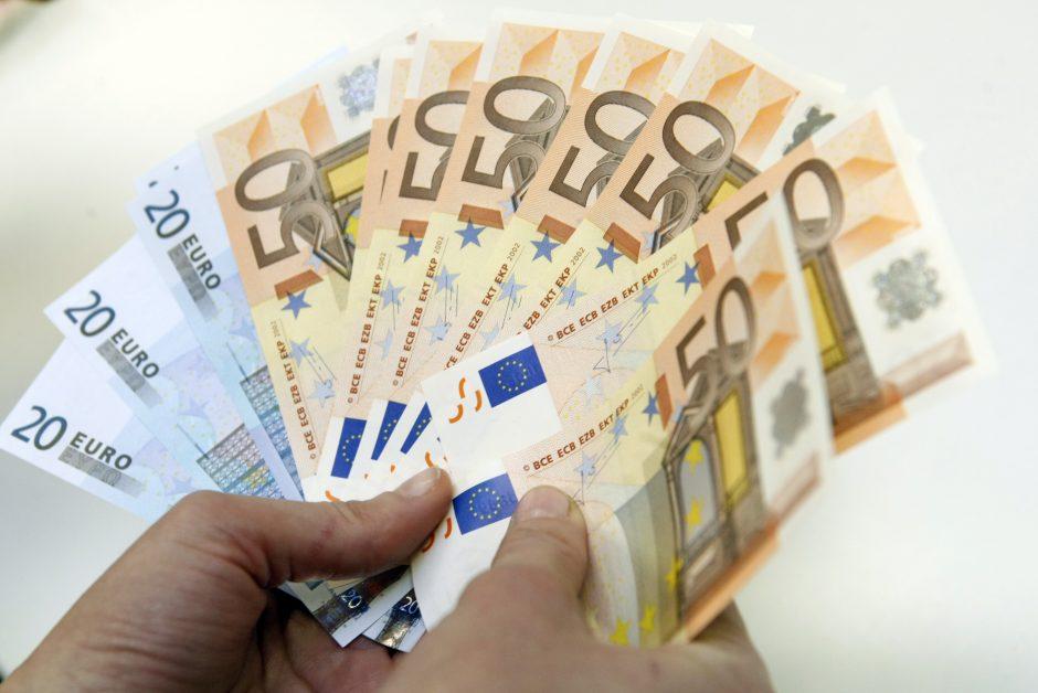 Į banką – velionio pinigų