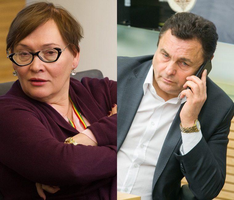 A. Maldeikienė apie P. Gražulio tėvystės skandalą: su tokiais žmonėmis – tik į teismą