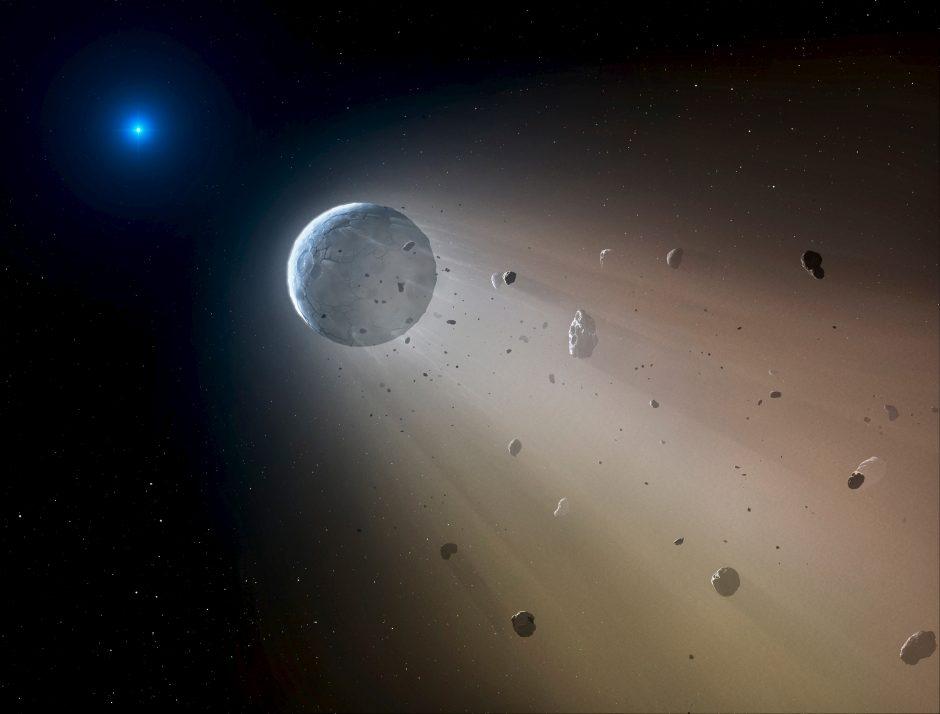 Netoli Žemės praskriejo namo dydžio asteroidas