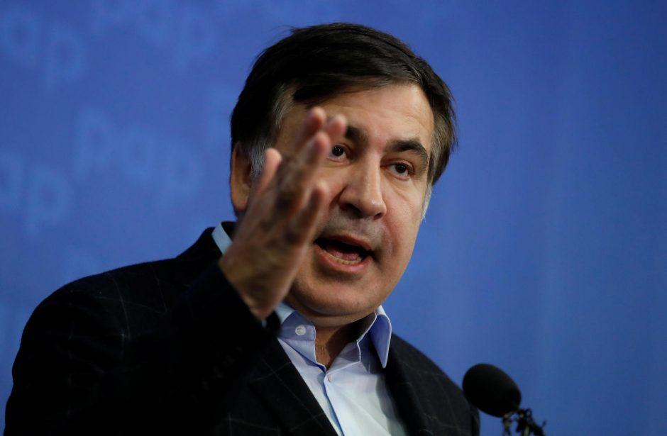 Kijevo teismas: M. Saakašviliui Ukrainoje negali būti suteiktas pabėgėlio statusas